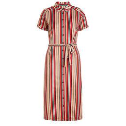 King Louie Rosie Slimfit Dress Lido Stripe