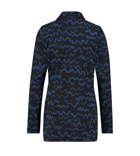 Studio Anneloes Fiona Small Twirl Blazer Dark Blue Classic Blue