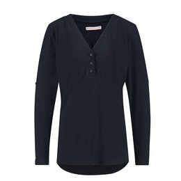 Studio Anneloes Evi Blouse Dark Blue