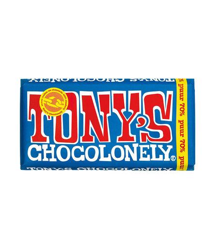 Tony's Chocolonely Tony's Chocolonely Puur 70% 180 gram