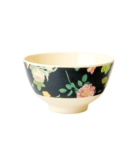 RICE Melamine Bowl Dark Rose