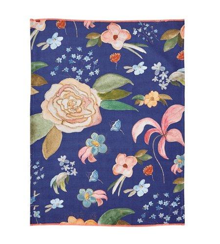 RICE Cotton Tea Towel Selma Fall Flower