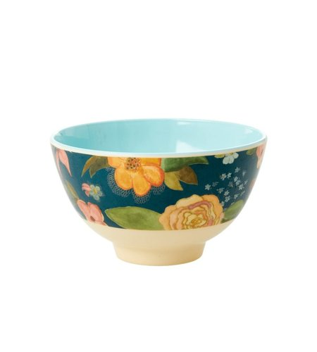 RICE Melamine Bowl Selma Fall Flower
