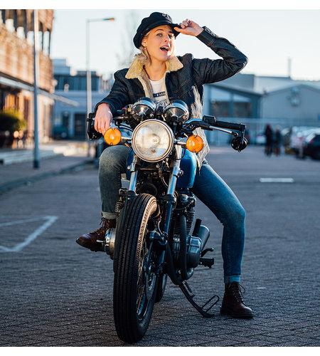 Amsterdenim Sjaan Jeans Slim Fit Oud Blauw