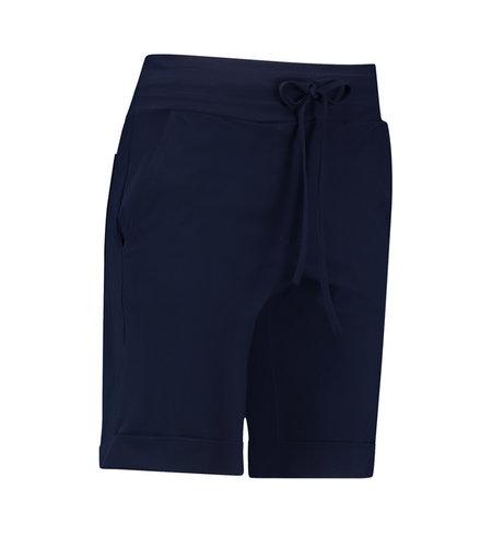 Studio Anneloes Bermuda Trousers Dark Blue