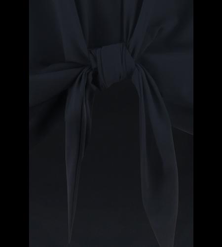 Studio Anneloes Poppy Knot Sleeveless Blouse Dark Blue