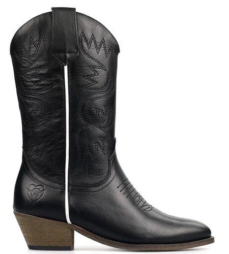 La Pintura Cowboy Laarzen Coco Black