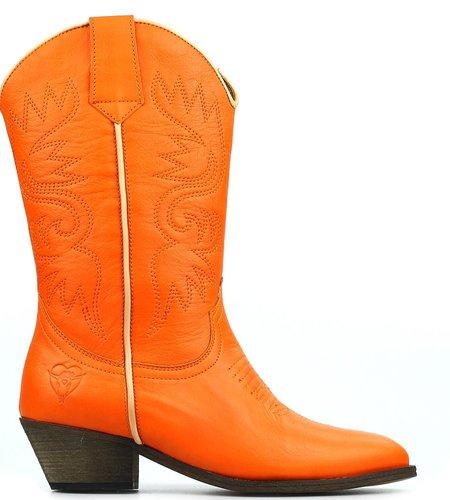 La Pintura Cowboy Laarzen Novia Orange