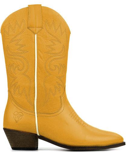 La Pintura Cowboy Laarzen Soline Yellow
