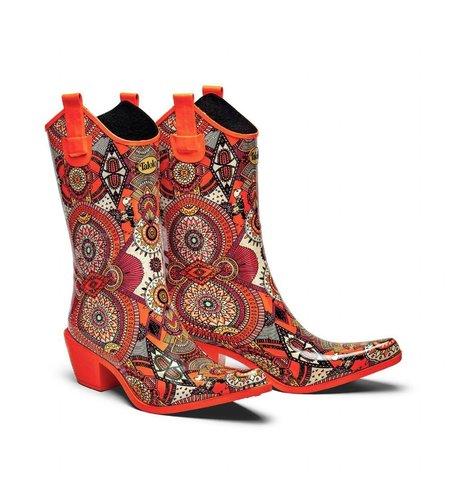 Talolo Regenlaarzen Boots Aztec Funk