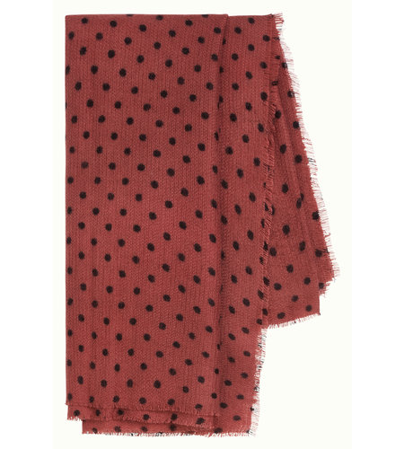 King Louie Scarf Pablo Henna Red