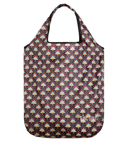 King Louie Eco Bag Emperor Cherise Red