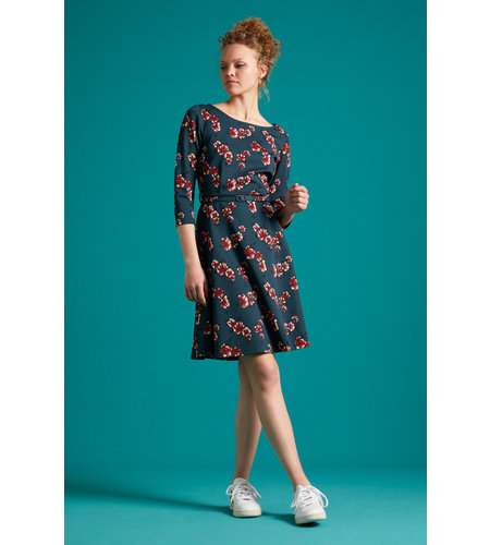King Louie Betty Dress Amori Pond Blue