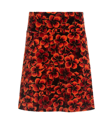 King Louie Border Skirt Ceylon True Red