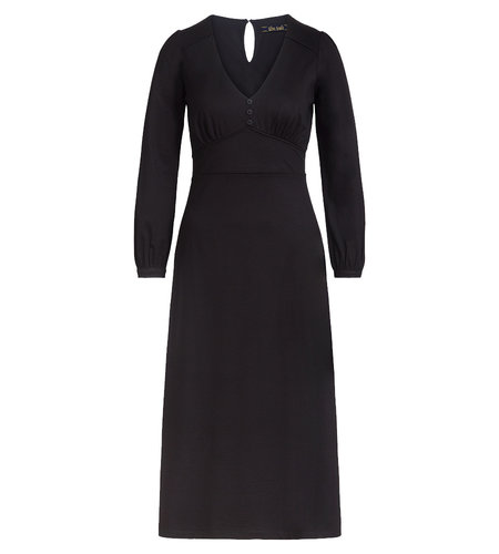 King Louie Lynn Dress Ecovero Classic Black