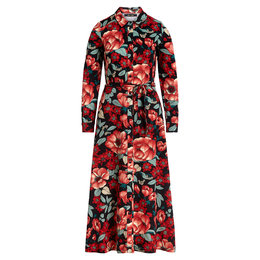 King Louie Olive Midi Dress Kimora
