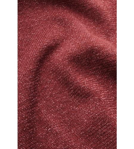 King Louie Cardi Roundneck Organic Lapis Velvet Pink