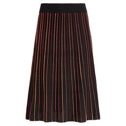 King Louie Pintuck Skirt Lapis