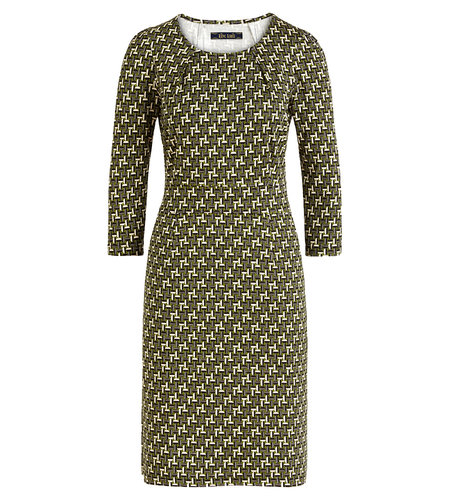 King Louie Mona Dress Noshi Olive Green