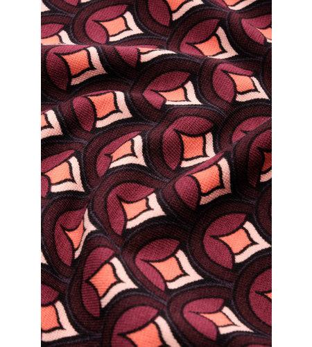 King Louie Sheeva Dress Pose Grape Red