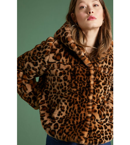 King Louie Judy Coat Tigresse Beige