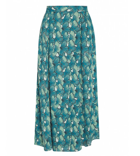 Fabienne Chapot Georgetta Skirt Dusty Blue Mint Green