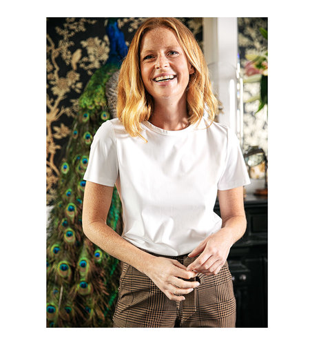 Studio Anneloes Lynn T-shirt Off White