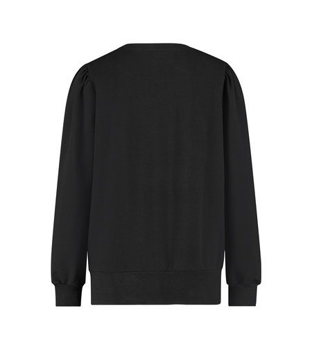 Studio Anneloes Maud Sweat Pullover Black