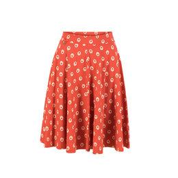 Blutsgeschwister Wooden Heart Circlar Skirt