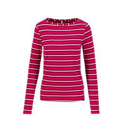 Blutsgeschwister Logo Striped Longsleeve Shirt
