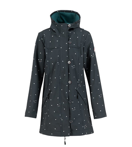 Blutsgeschwister Wild Weather Long Anorak Kitty Cat