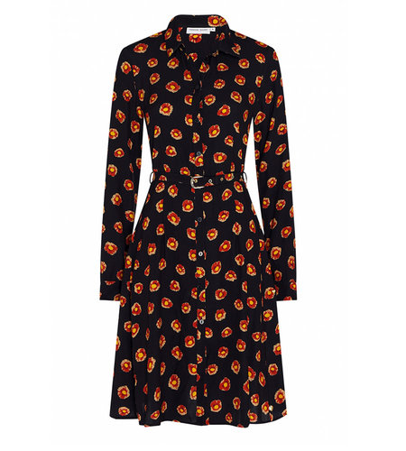 Fabienne Chapot Hayley Dress Dark Dahlias