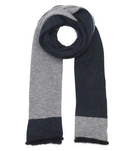 Costa Mani Beth Scarf Blue Grey