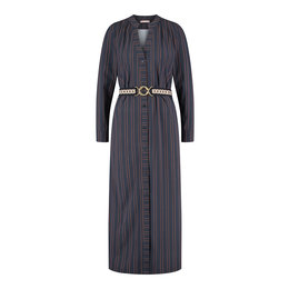Studio Anneloes Shelby Pinstripe Longsleeve Dress