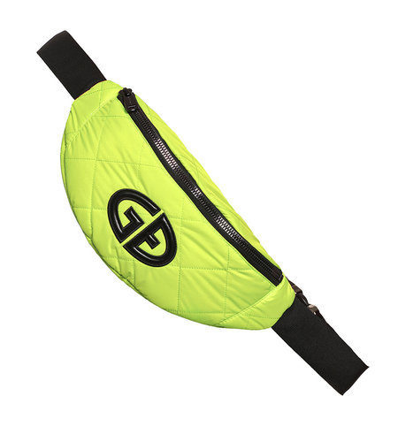 Goldbergh Velia Beltbag Neon Yellow