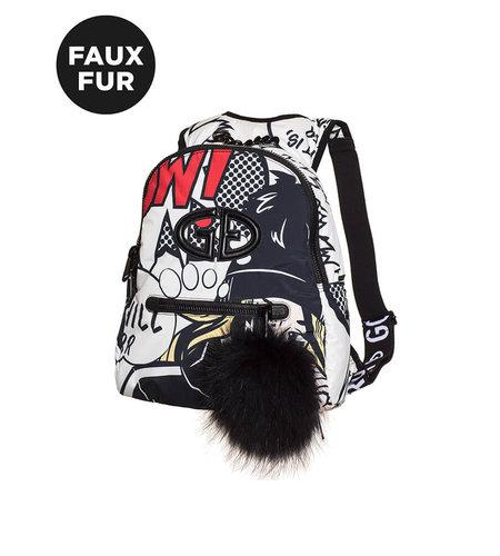 Goldbergh Handy Backpack Faux Fur Pop