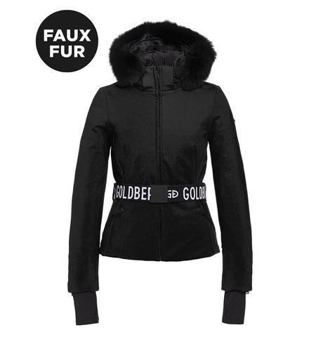 Goldbergh Hida Jacket Faux Fur Black