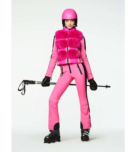 Goldbergh Foxy Bodywarmer Faux Fur Wow Pink