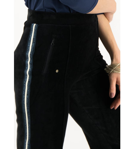 Blutsgeschwister Lucky Star Trek Pants Black Eyeshadow