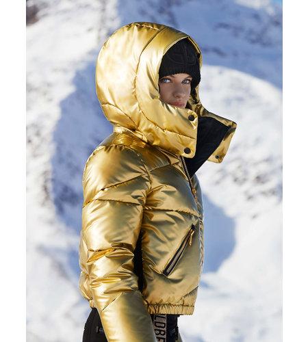 Goldbergh Balloon Jacket Gold
