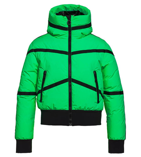 Goldbergh Web Jacket Green