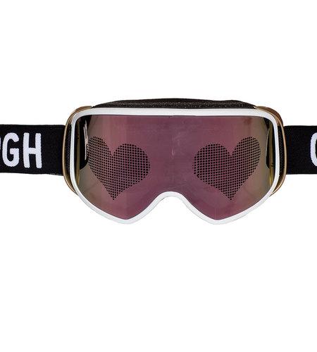 Goldbergh Heart Goggle White