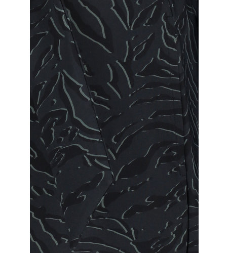 Studio Anneloes Belle Animal Dress Black Dark Grey