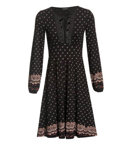 Vive Maria Heidi In Love Dress Black Allover
