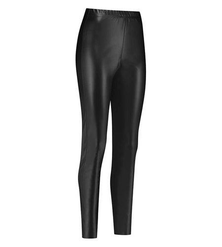Studio Anneloes Ally Dull Leather Legging Black