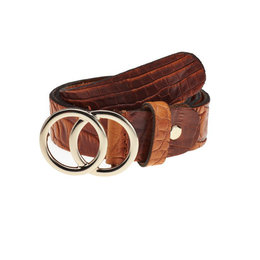 Elvy Croco Belt Women