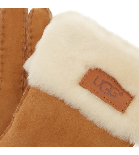 UGG Turn Cuff Glove Chestnut