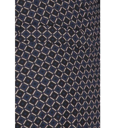 Studio Anneloes Floor Minimal Trousers Dark Blue Black