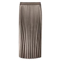Geisha Skirt Shiny Plisse Lurex Waistband
