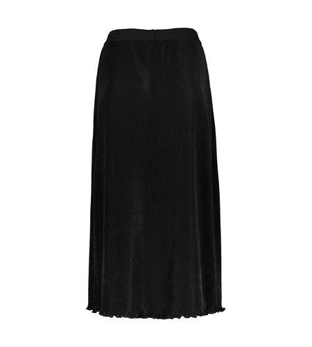 Geisha Skirt plisse With Elastic Waistband Black 06852-99